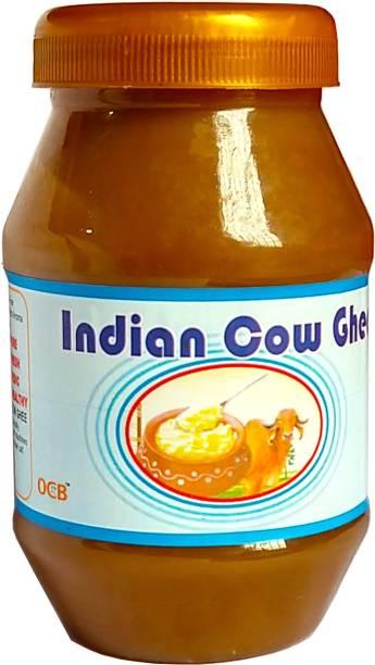 OCB Indian Cow Ghee A2 cow ghee, Pure & Natural Ghee (Village Made Desi Cow Milk) Ghee 250 g Plastic Bottle