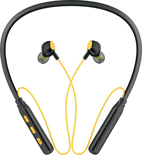 Aroma NB119 Advance - 40 Hours Playtime Bluetooth Neckband Bluetooth Headset