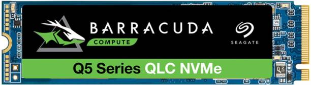 Seagate Barracuda Q5 with M.2 NVMe PCIe Gen3 ×4, 3D QLC for Desktop or Laptop, 1-Year Rescue Services 500 GB Laptop Internal Solid State Drive (ZP500CV3A001)