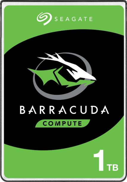 Seagate Barracuda with 2.5 inch SATA 6 Gb/s 5400 RPM 128 MB Cache for PC Laptop 1 TB Laptop Internal Hard Disk Drive (ST1000LM048)