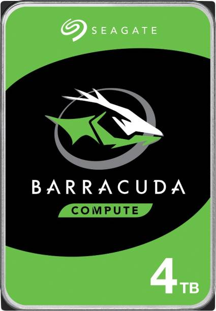 Seagate Barracuda - 3.5 inch SATA 6 Gb/s, 5400 RPM, 256 MB Cache 4 TB Desktop Internal Hard Disk Drive (ST4000DM004)