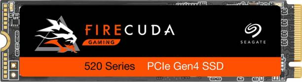 Seagate Firecuda 520 with PCIe Gen4 x4 NVMe 1.3 for PC Gaming Laptop, Desktop 500 GB Laptop Internal Solid State Drive (ZP500GM3A002)