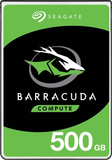 Seagate Barracuda with 2.5 inch SATA 6 Gb/s 5400 RPM 128 MB Cache for PC Laptop 500 GB Laptop Internal Hard Disk Drive (ST500LM030)