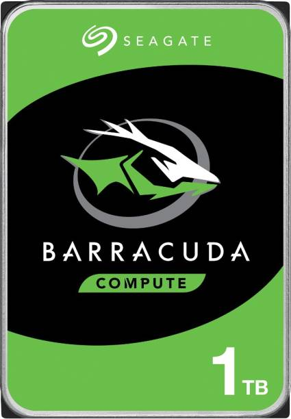 Seagate Barracuda - 3.5 inch SATA 6 Gb/s, 7200 RPM, 64 MB Cache 1 TB Desktop Internal Hard Disk Drive (ST1000DM010)