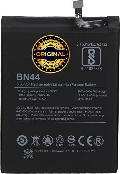 Wimax Mobile Battery For  XIAOMI REDMI BN44 REDMI NOTE 5,REDMI NOTE 5 PLUS BN-44