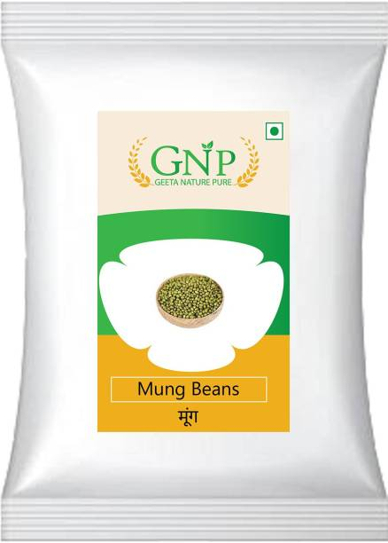 GEETA NATURE PURE Green Moong Dal (Whole)
