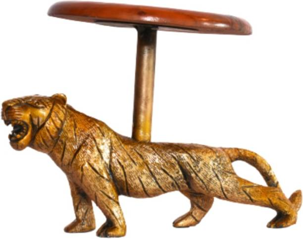 The divine art studio Attractive Decorative Showpiece TIGER TABLE DECOR Decorative Showpiece  -  17 cm