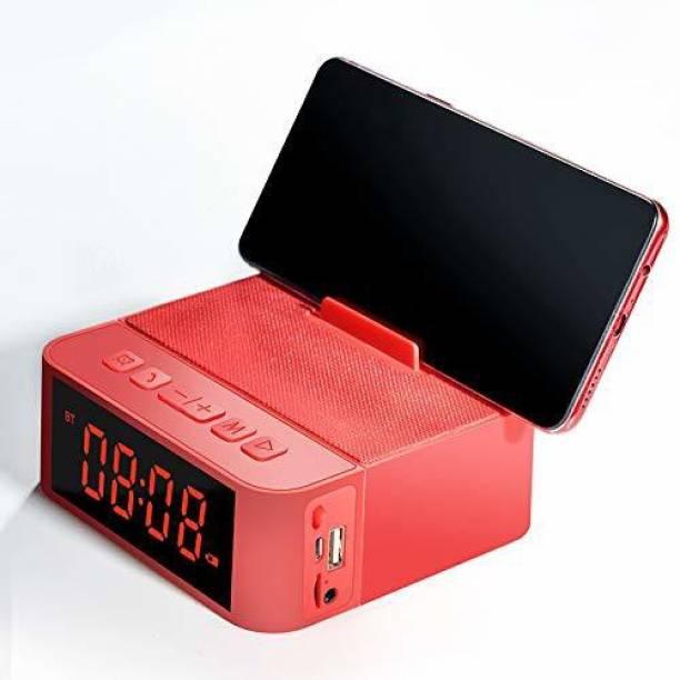 DUDAO Fm Radio Wireless Speakers with Calling Function, Digital Alarm Clock, SD Card 5 W Bluetooth Speaker