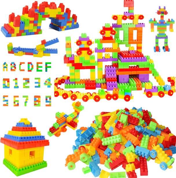 VniQ 255+ Pcs Building Blocks Toy Set Creative Learning Educational & Intellectual Block Toys For Kids