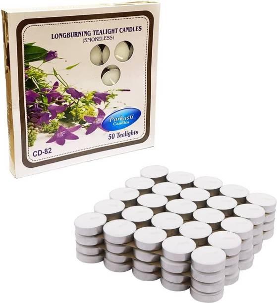 Parkash Candles Tealight 100 pcs pure paraffin wax unscented Candle