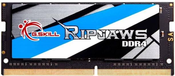 G skill RIPJAW DDR4 4 GB (Single Channel) Laptop D RAM (F4-2400C16S-4GRS)