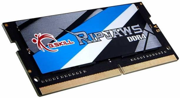 G skill RIPJAW DDR4 8 GB (Single Channel) Laptop D RAM (F4-3200C22S-8GRS)