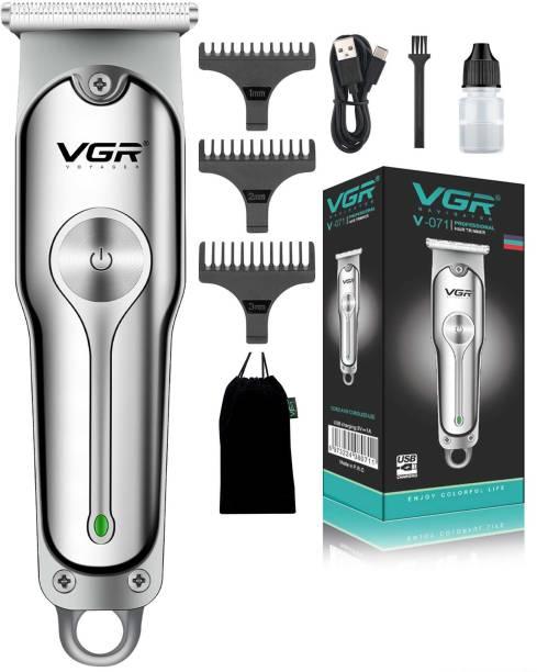 VGR V-071 Corded & Cordless  Runtime: 120 min Trimmer for Men