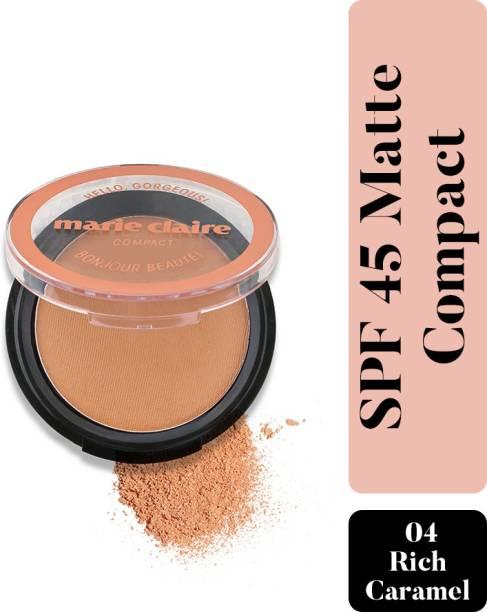 Marie Claire Paris SPF 45 Matte Compact
