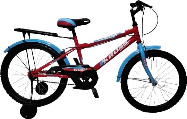Kross Storm 20T Ranger Kids Cycle Training Wheel Carrier Bicycle 20 T Road Cycle
