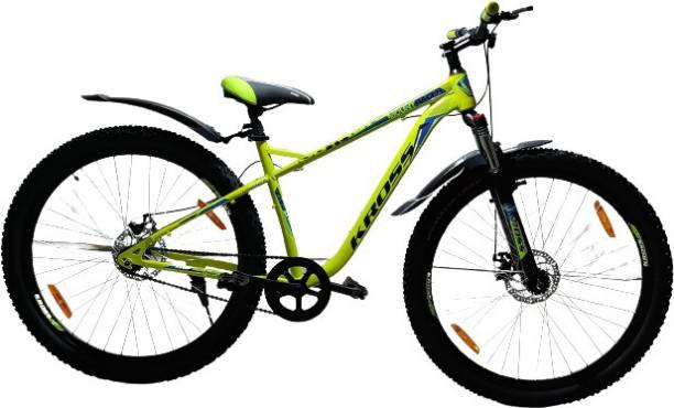 Kross MountRacer 29T Double Disc Brake Front Lock Suspension Cycle MTB Bike 29 T Mountain/Hardtail Cycle