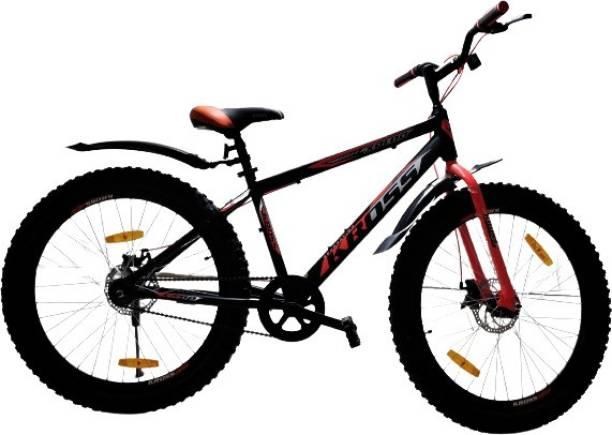 Kross Xplod 26T Double Disc Brake Ranger Cycle City Bicycle Tire 3.0 Sports Bike 26 T Road Cycle