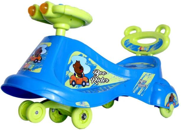 Young Wheels Boo Ride on for Kids with Light and Music Function Rideons & Wagons Battery Operated Ride On