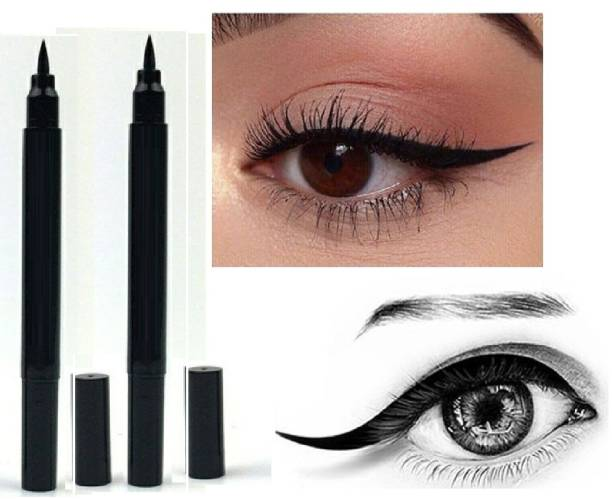 MIKARA Liquid Smudgproof Black 22 Hours sketch eye liner