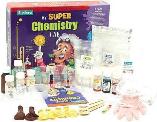 Eazekray SSTEM Learner | My Super Chemistry Lab (Learning & Educational DIY Activity Toy Kit, for Ages 6+ of Boys and Girls) (My Super Chemistry) (My Super Chemistry)