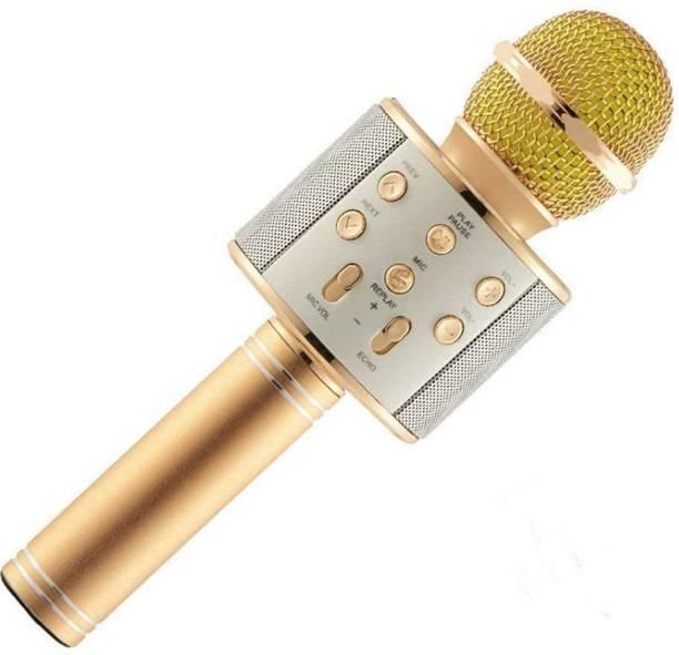 Happysome Wireless Bluetooth Microphone- Karaoke Mic Microphone