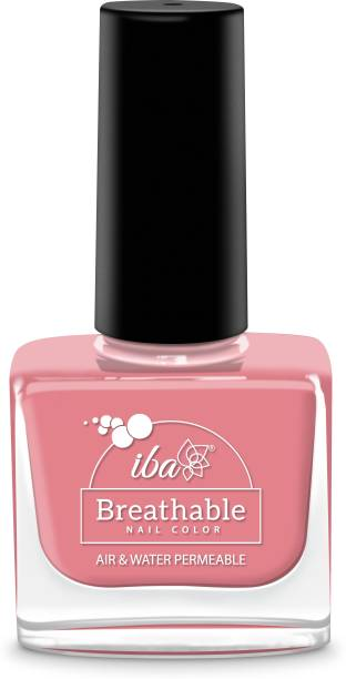 Iba Argan Oil Enriched Breathable Nail Color (B28 Nude Berry)