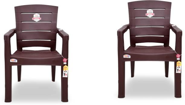 AVRO furniture 9955 MATT CHAIR (Set Of 2 Chairs) Plastic Outdoor Chair