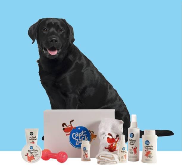 Captain Zack The Labrador Groom Box Pet Spa Kit