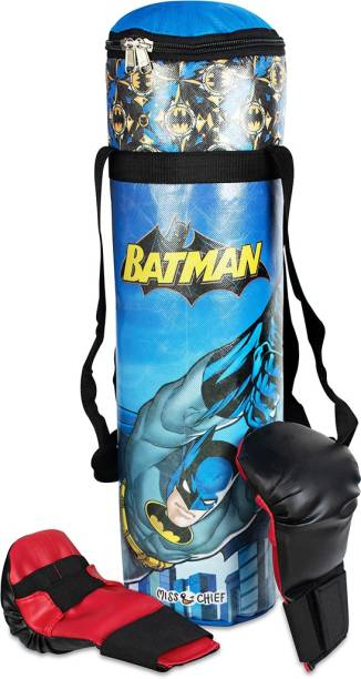Miss & Chief Batman Licensed Boxing Set for Kids Boxing