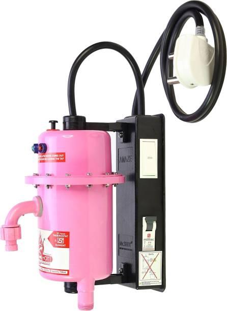 Mr.SHOT 1 L Instant Water Geyser (AMZ-21-ROMR, Pink)