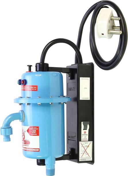 Mr.SHOT 1 L Instant Water Geyser (AMZ-21-BMR, Blue)