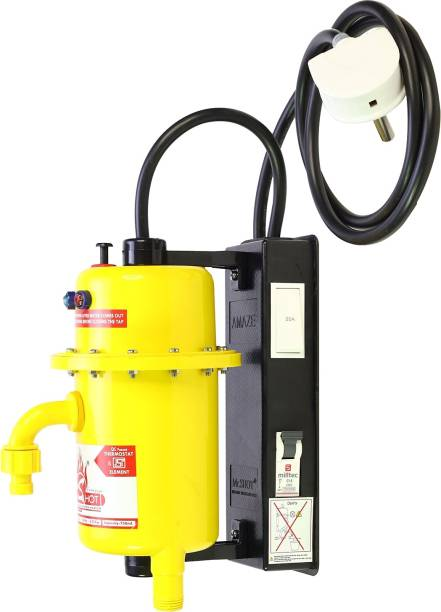 Mr.SHOT 1 L Instant Water Geyser (AMZ-21-YMR, Yellow)