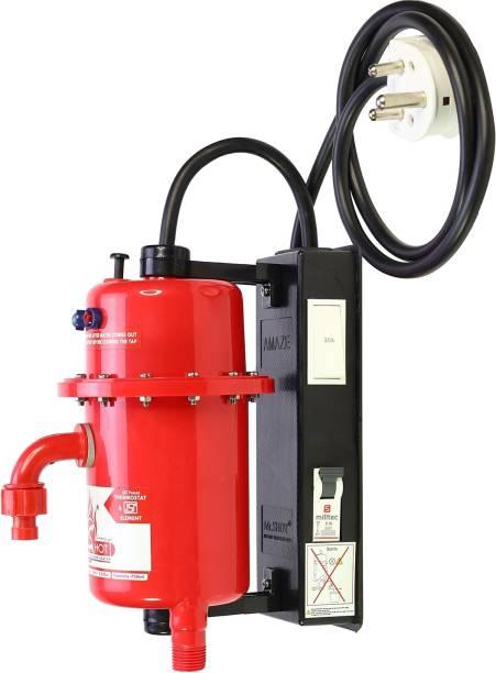 Mr.SHOT 1 L Instant Water Geyser (AMZ-21-RMR1, Red)