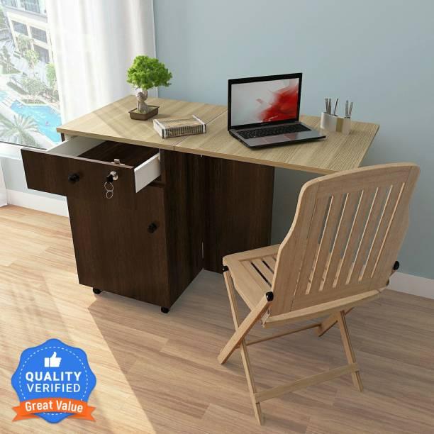 Studio Kook Smart Convertible Desk Engineered Wood Computer Desk
