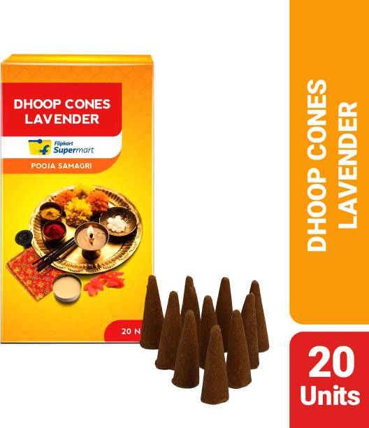 Flipkart Supermart Puja Cones Lavender Dhoop