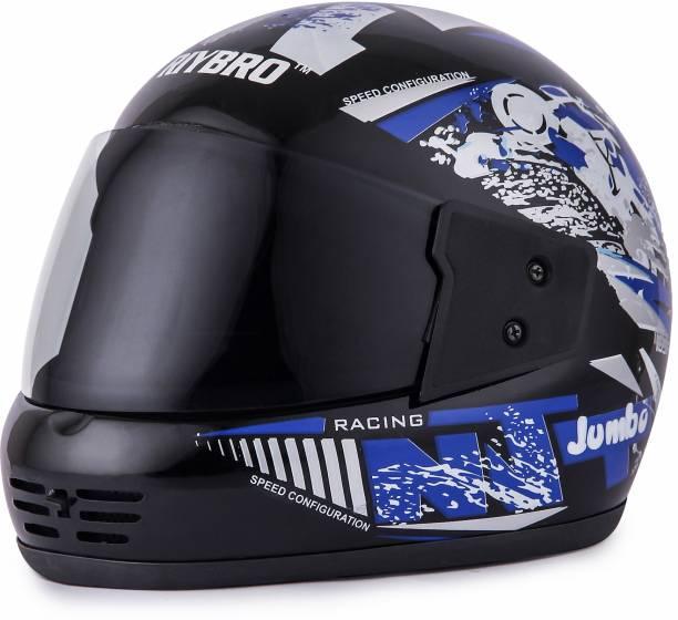 Riybro Full Face ISI Marked with Adjustable strap fro Men & Women Bike & Scooty Riding Motorbike Helmet