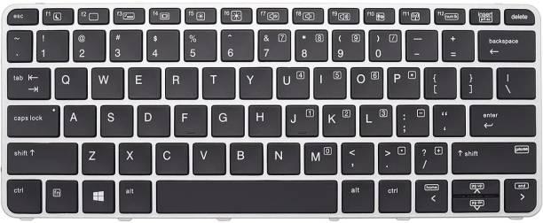 WISTAR Laptop Keyboard HP ELITEBOOK 745 G3 840 G3 848 G3 745 G4 840 G4 US Layout Black Color with Frame Without Backlit Without Mouse Laptop Keyboard Replacement Key