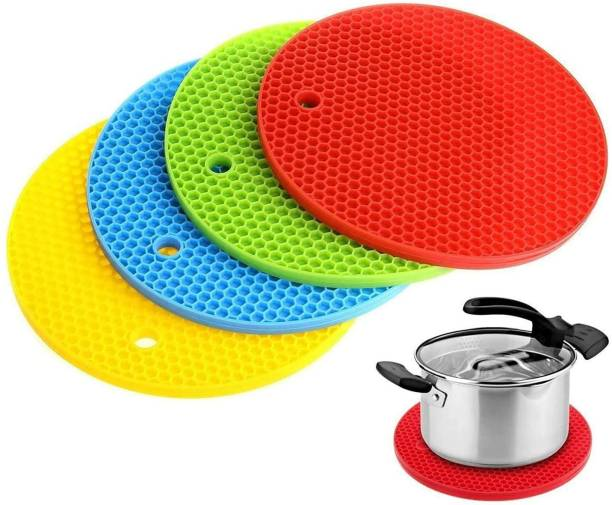 Nulomi Multicolor Silicon Kitchen Linen Set