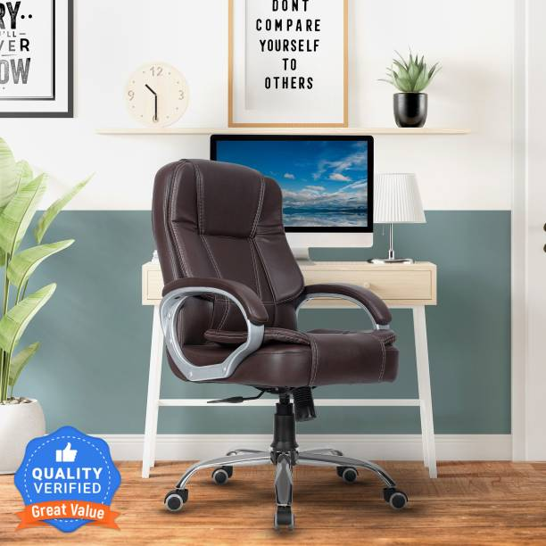 GREEN SOUL Vienna Mid-Back Office Chair Leatherette Office Executive Chair