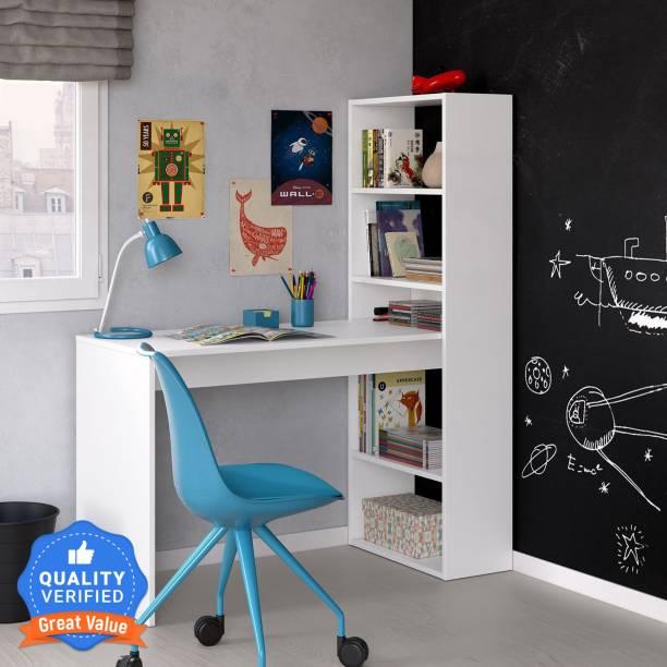 COMFOLD Corner Desk Engineered Wood Study Table