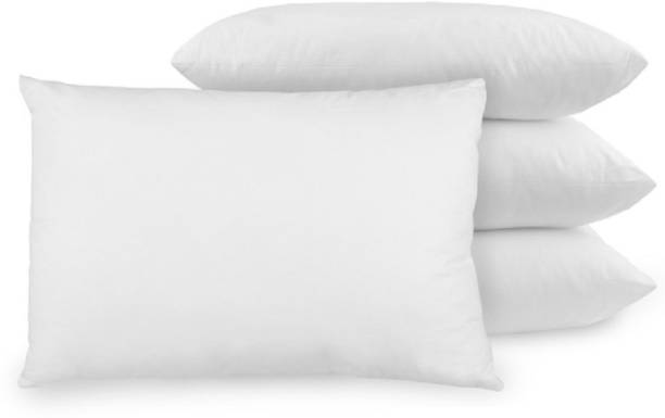 PP Polyester Fibre Solid Sleeping Pillow Pack of 4