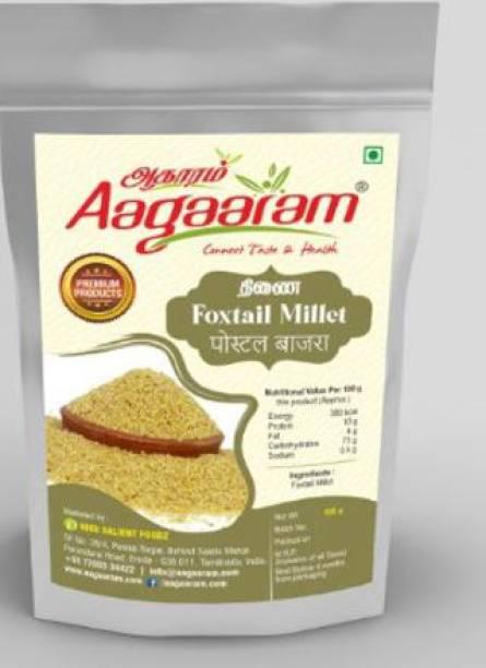 aagaaram foxtail millet-500gm Foxtail Millet