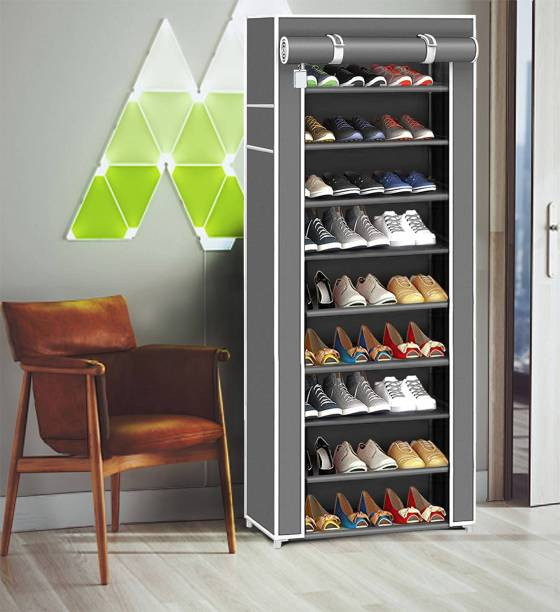 Coroid 6-Layer_For Home And Kids Shoe Stand Letest Metal Organizer Plastic for home Collapsible Shoe Stand Plastic Collapsible Shoe Stand