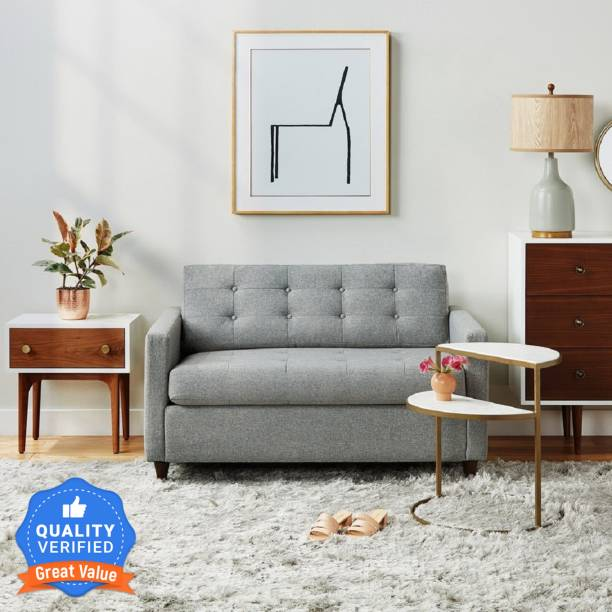 The Royal Nest Fabric 2 Seater  Sofa