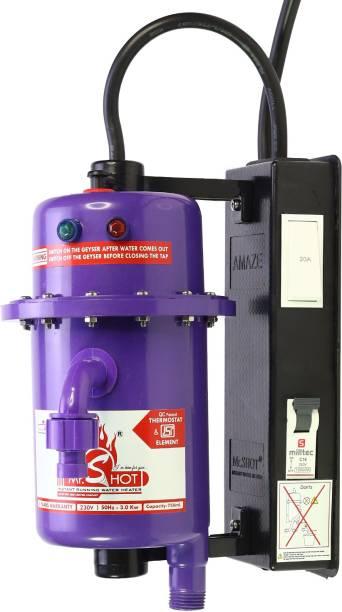 Mr.SHOT 1 L Instant Water Geyser (AMZ-21-VMR, Purple)