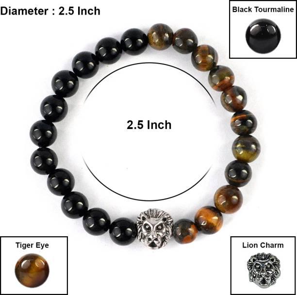 REIKI CRYSTAL PRODUCTS Stone, Crystal Tiger's Eye, Tourmaline, Crystal Bracelet