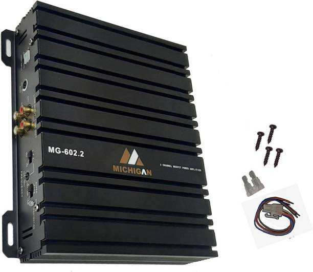 13-HI-13 Best designer High Quality Amplifier boosts your musical experience by giving a powerful stereo real input (2 channel RMS OUTPUT POWER 4 – 60W X 2CH ( 1900W MAX ) Two Class AB Car Amplifier