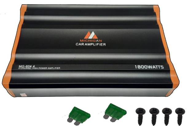13-HI-13 4 CHANNEL MOSFET HIGH POWER AMPLIFIER Multi Class AB Amplifier boosts your musical experience by giving a powerful stereo real input Singnal to noise ratio >90db & Sensitivity 200mV~8V Multi Class AB Car Amplifier