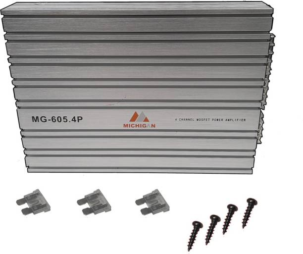 13-HI-13 4 Channel Amplifier boosts your musical experience by giving a powerful stereo real input Multi Class AB Maximum Output Power 7600W Multi Class AB Car Amplifier