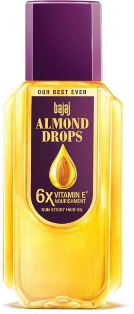 BAJAJ Almond Drops Hair Oil enriched with 6X Vitamin E, Reduces Hair Fall Hair Oil
